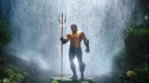 Aquaman 2 : Jason Momoa se dévoile dans son nouveau costume