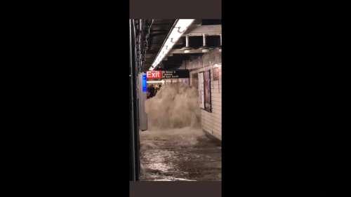 Des inondations meurtrières se sont abattues dans les métros et les rues de New York