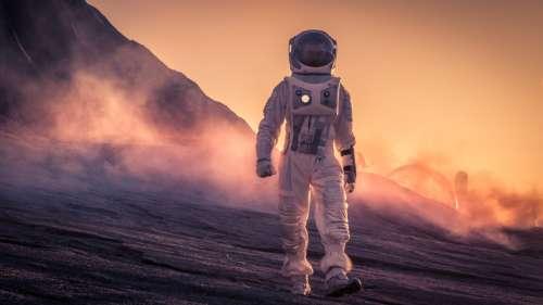 L'entrée des grottes martiennes pourrait protéger efficacement les colonies humaines des radiations
