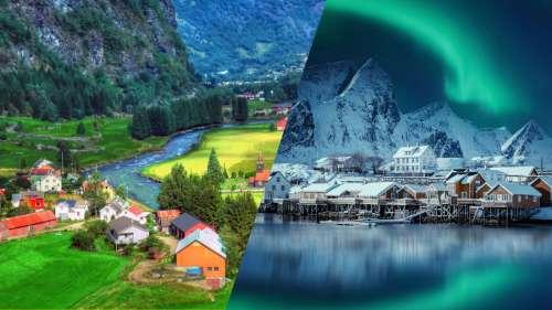 10 villages pittoresques en Norvège qui semblent tout droit sortis d'un conte de fées