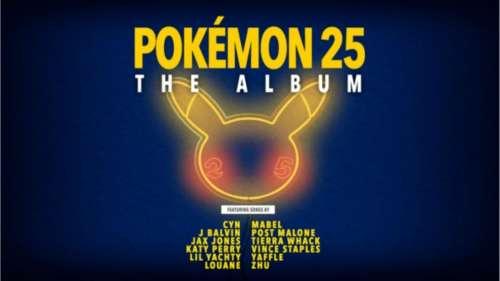 Pour ses 25 ans, Pokémon sort un album avec des stars de la chanson