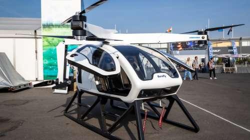 La NASA teste un prototype de «taxi aérien» électrique