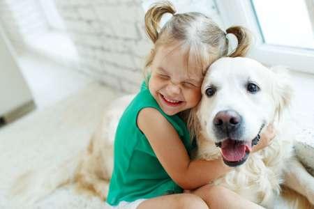 Le chien, meilleur ami des enfants