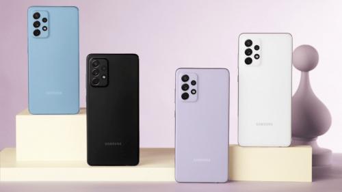 Galaxy A82 5G : le smartphone apparait sur le site de Samsung