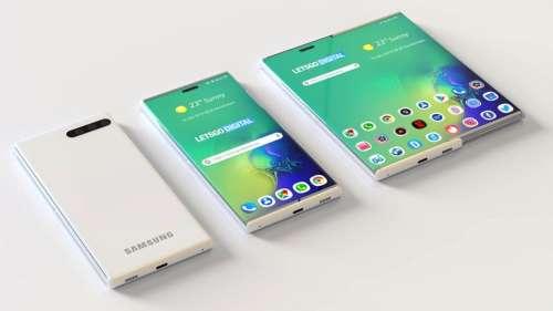 Samsung dépose la marque Galaxy Z Slide, un smartphone enroulable en approche ?