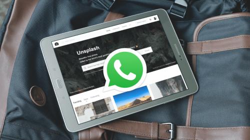 Utiliser WhatsApp sur une tablette Android