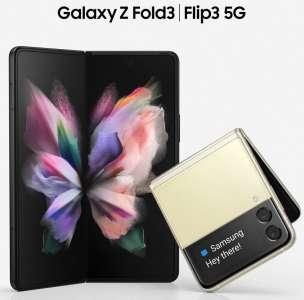 Galaxy Z Fold 3 et Z Flip 3 : des images officielles font surface