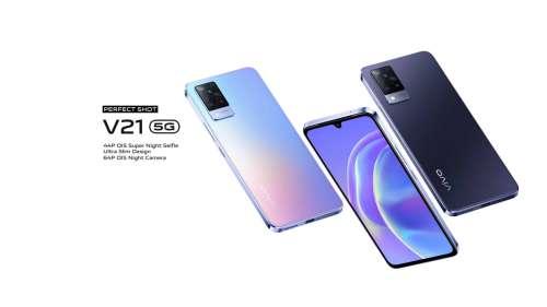Vivo V21 5G : le nouveau smartphone… pour Tiktok ?