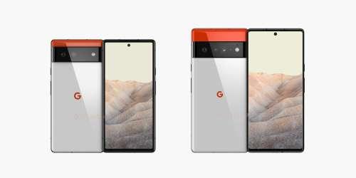 Google Pixel 6 et 6 Pro : la fiche technique complète vient de fuiter
