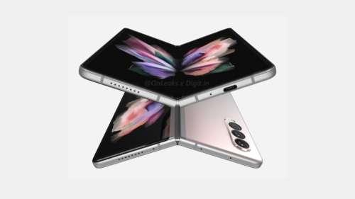 Samsung Galaxy Z Fold 3 : voici le design final du smartphone