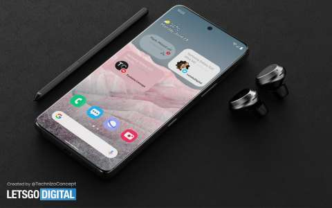 Galaxy S22 : Samsung n'utiliserait pas de caméra sous l'écran