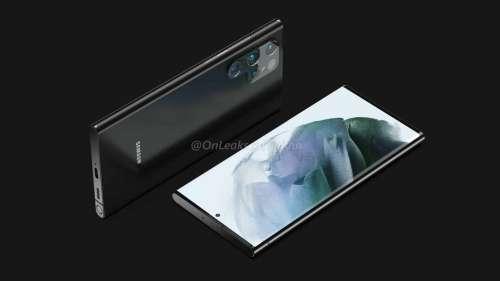 Galaxy S22 Ultra : Samsung proposerait un design similaire au Note 20
