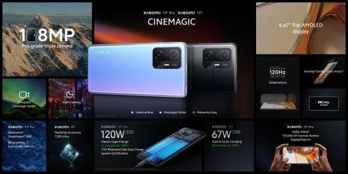 Xiaomi 11T et 11T Pro : un évènement de lancement en France pour le 28 septembre