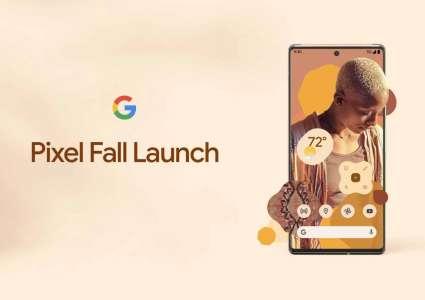 Google annonce une conférence pour les Pixel 6 et Pixel 6 Pro