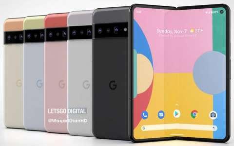 Pixel Fold : voici le design du smartphone pliable de Google