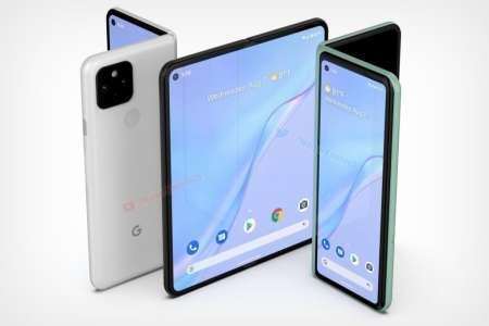 Pixel Fold : le smartphone pliable se dévoile dans Android 12.1