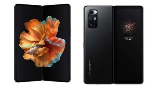 Xiaomi prépare un nouveau smartphone pliable avec caméra sous l'écran