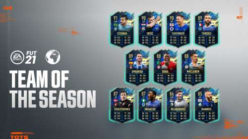 FIFA 21 Rest of World TOTS