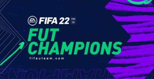 FUT Champions Rewards for FIFA 22