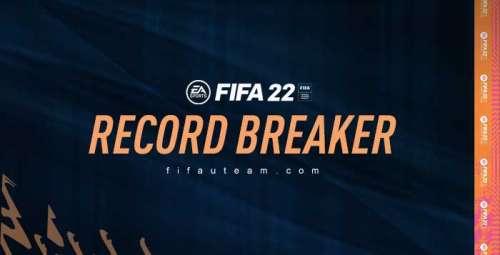 FIFA 22 Record Breaker Cards List