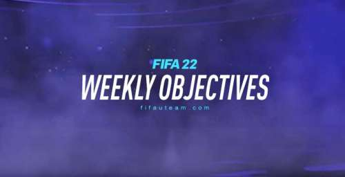 FIFA 22 Weekly Objectives – Bronze, Silver and Gold Objectives List