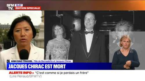 VIDEO. Anh Dao Traxel, fille adoptive de Jacques Chirac :