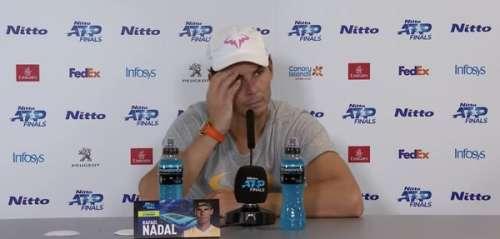 VIDÉO. Rafael Nadal envoie balader un journaliste qui l'interroge sur son mariage avec Xisca