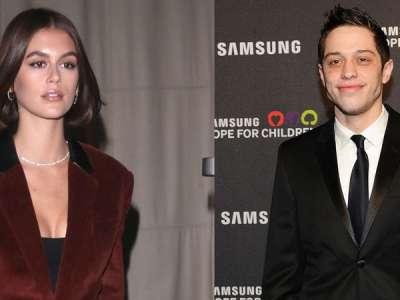 Kaia Gerber officialise sa romance avec Pete Davidson, l'ex d'Ariana Grande, lors d'une balade main dans la main à New York