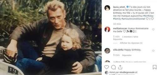PHOTO. Laura Smet partage un message poignant sur l'absence de Johnny Hallyday pour son 36e anniversaire: