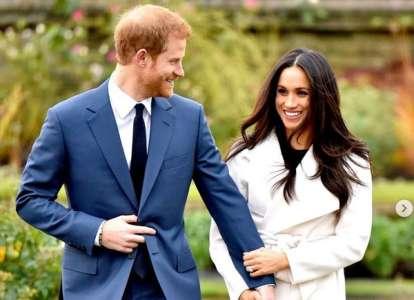 Le prince Harry et Meghan Markle partagent trois clichés adorables pour souligner un événement très spécial