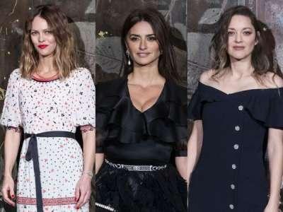 Vanessa Paradis, Marion Cotillard, Penelope Cruz... les stars n'ont pas voulu manquer le défilé Chanel