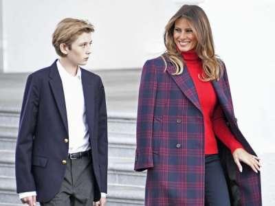 Melania Trump sort du silence et s'énerve après une blague sur son fils Barron lors d'une audition au Congrès