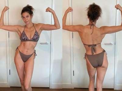 Teri Hatcher dévoile son corps de rêve à 55 ans :