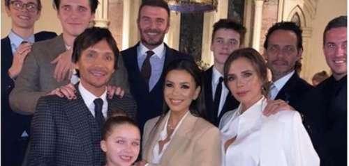 Harper la fille de David et Victoria Beckham a été baptisée en présence de sa marraine Eva Longoria