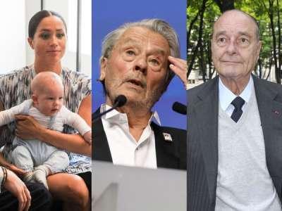 Archie, Alain Delon, Jacques Chirac : les faits les plus marquants de l'année people en 2019