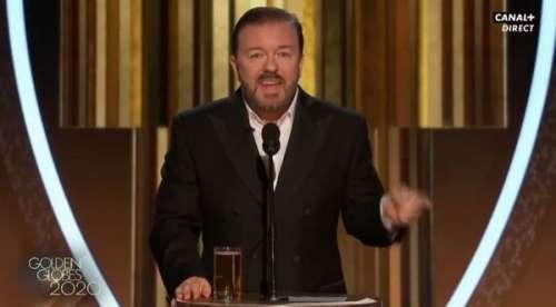 Golden Globes 2020 :Ricky Gervais ose une blague sur le scandale du prince Andrew en pleine cérémonie