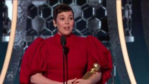 Golden Globes 2020: le clin d'œil militant bien trouvé d'Olivia Colman