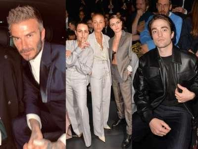 David Beckham, Cara Delevingne, Robert Pattinson... Les people ultra-lookés pour le défilé Dior hommes