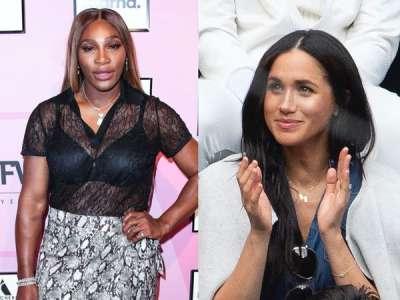 Serena Williams rembarre un journaliste après une question sur sa BFF Meghan Markle :