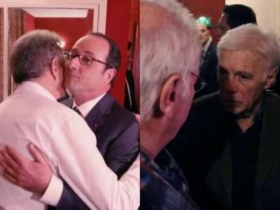 Spectacle de Michel Drucker: quand Guy Bedos a refusé de dire bonjour à François Hollande