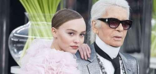 Lily-Rose Depp: son touchant hommage à Karl Lagerfeld un an après sa mort