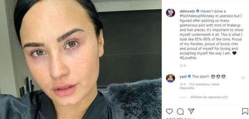 Demi Lovato sublime au naturel : la chanteuse dévoile un cliché sans artifice