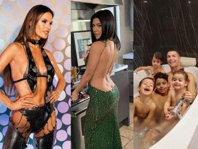 Alessandra Ambrosio, Kourtney Kardashian, Cristiano Ronaldo... le best of Instagram de la semaine