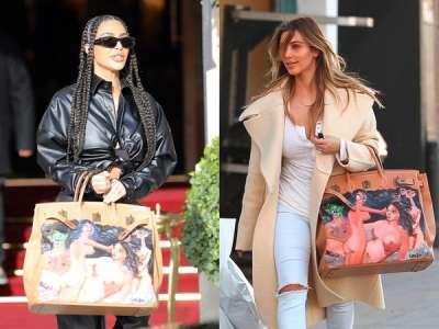 Kim Kardashian ressort son sac Hermès hors de prix