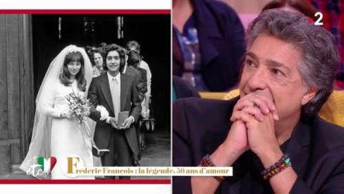 Frédéric François se confie sur sa première fois avec sa femme Monique :