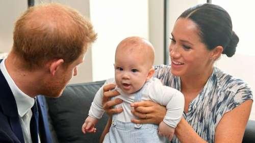 Le prince Harry et Meghan Markle : ce petit geste qu'a commencé à faire Archie