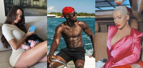 Nabilla, Usain Bolt, Christina Aguilera... le best of Instagram de la semaine