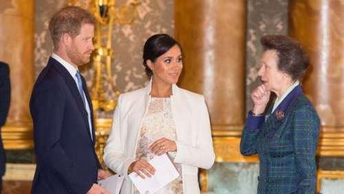 Meghan Markle et le prince Harry : le soutien secret de la princesse Anne pour le Megxit