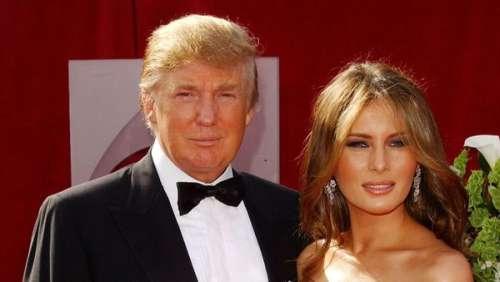 Melania Trump: à quoi ressemblait la première dame lorsqu'elle a épousé Donald Trump