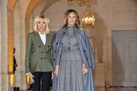 Melania Trump plus inquiète que son mari : les confidences de Brigitte Macron sur le confinement de la First Lady